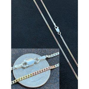HarlemBling Gold 925 Silver Cuban Chain Necklace